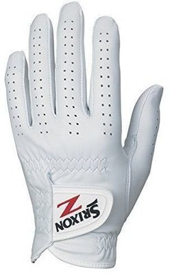 Srixon Premium Cabretta Mens Golf Glove White Left Hand for Right Handed Golfers ML