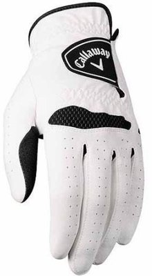 Callaway Apex Tour Mens Golf Glove 2014 White Right Hand for Left Handed Golfers M