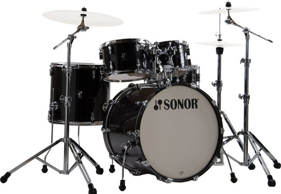 Sonor AQ2 Stage Set Transparent Stain Black