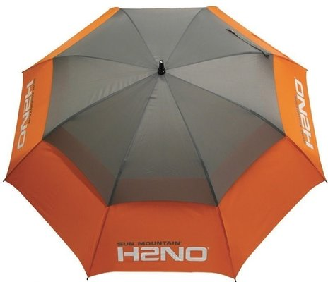 Sun Mountain H2NO 68 Umbrella Orange/Grey