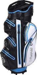 Fastfold Waterproof Cart Bag Black/White/Blue