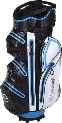 Fastfold Waterproof Black/White/Blue Cart Bag