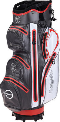 Fastfold Waterproof Grey/White/Red Cart Bag