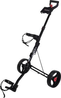 Fastfold Aluminium Stowa II Black Golf Trolley