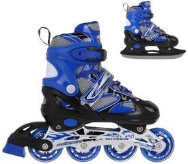Nils Extreme Roller Skates NH 18366 A 2in1 Blue L (39-42)