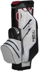 Sun Mountain H2NO Lite Cart Bag White/Black/Red