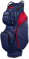 Sun Mountain Ecolite Cart Bag Navy/Red/Cobalt