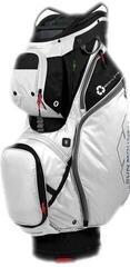 Sun Mountain Ecolite Cart Bag Black/White/Gunmetal/Red