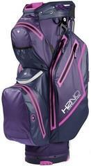Sun Mountain H2NO Staff Cart Bag Purple/Navy/Fuchsia