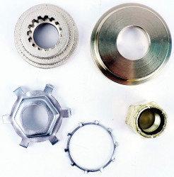 Quicksilver Propeller Nut Kit 11-827614Q01