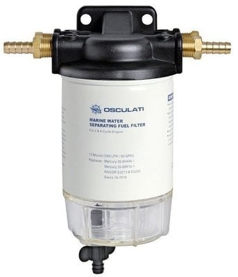 Osculati Benzínový filter s odkalovačom 192-410 l/h