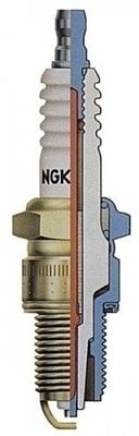 NGK 6962 BKR6E V-Power Spark Plug
