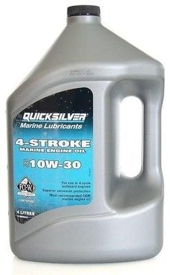 Quicksilver 4-Stroke Marine Engine Oil Outboard SAE 10W-30 4L