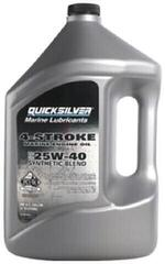 Quicksilver 4-Stroke Marine Oil Synthetic Blend 25W-40 4L