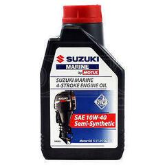 Suzuki Marine 4-Stroke Engine Oil SAE 10W-40 Semi-Synthetic 1L