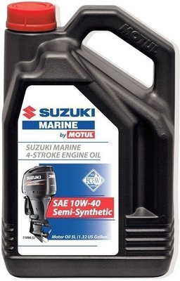 Suzuki Marine 4-Stroke Engine Oil SAE 10W-40 Semi-Synthetic 5L