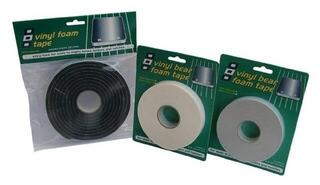 PSP Vinyl Foam Tape 25mm Black