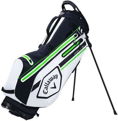 Callaway Chev Dry Stand Bag White/Black/Green