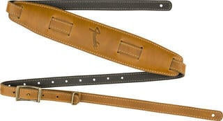 Fender Mustang Vintage Saddle Strap Long Butterscotch