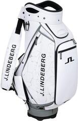 J.Lindeberg Staff Stand Bag Slit White