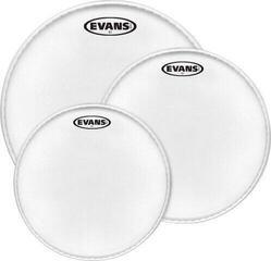 Evans EC2 Coated Rock (10'', 12'', 16'') Drumhead Set