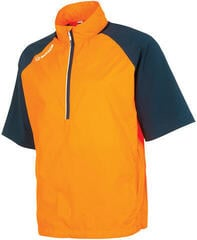 Sunice Westchester Short Sleeve 1/2 Zip Mens Jacket Outrageous Orange/Midnight M
