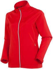 Sunice Belmont Wind Womens Jacket Scarlet Flame
