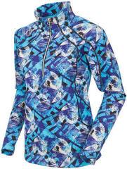Sunice Megan Superlite FX Strech Womens Sweater Violet Blue Flash Print