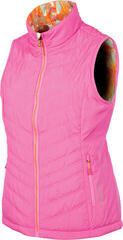 Sunice Maci Reversible Womens Vest Pink/Neon Pink Flash Print XS