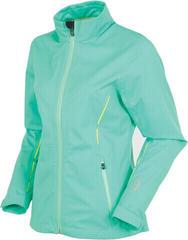 Sunice Onassis Zephal Waterproof Womens Jacket Green/Yellow