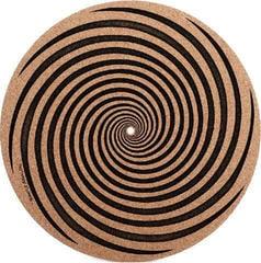 Simply Analog Vertigo CORK Slipmat Black-Brown