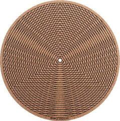Simply Analog Tricircle CORK Slipmat Brown