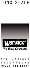 Warwick Red String Single .045''