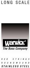 Warwick Red .055'' Single Bass String