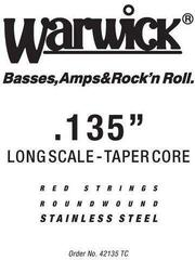 Warwick 42130-TC Single Bass String