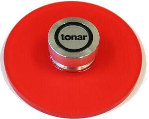 Tonar Record Player Clamp Clamp (Stabilizer) Red