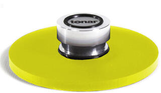Tonar Record Player Clamp Clamp (Stabilizer) Yellow