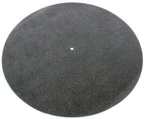 Tonar Leather Mat Black