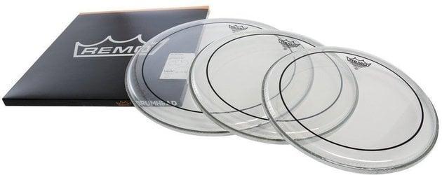 Remo Drum Head Pinstripe Transparent ProPack 12'' 13'' 16''