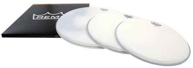 Remo Drum Head Emperor White Coated ProPack 12'' 13'' 16''