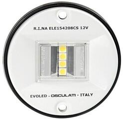 Osculati Evoled navigation light 135° stern white ABS