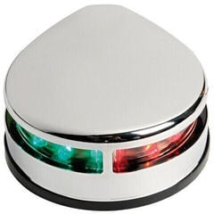 Osculati Evoled Bicolor navigation light polished Stainless Steel body