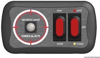 Osculati Joystick-Schaltplatte für Classic