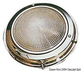 Osculati Stainless Steel fixture light 140 mm