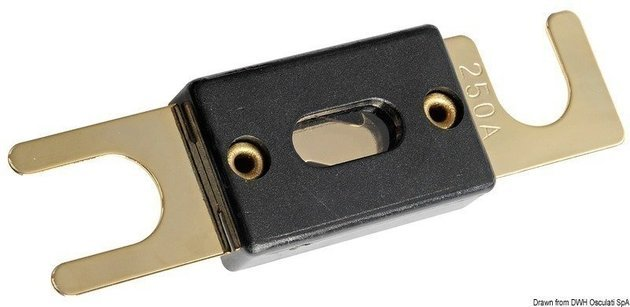 Osculati High capacity ANL Gold Plated fuse 130A