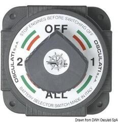 Osculati Heavy Duty battery switch, high-power model