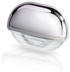 Hella Marine White LED Easy Fit Gen 2 Step Lamp 12-24V DC Series 8560, Chrome Plated Plastic Cap
