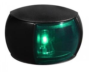 Hella Marine 2 NM NaviLED Starboard Navigation Lamp Series 0520 BLACK