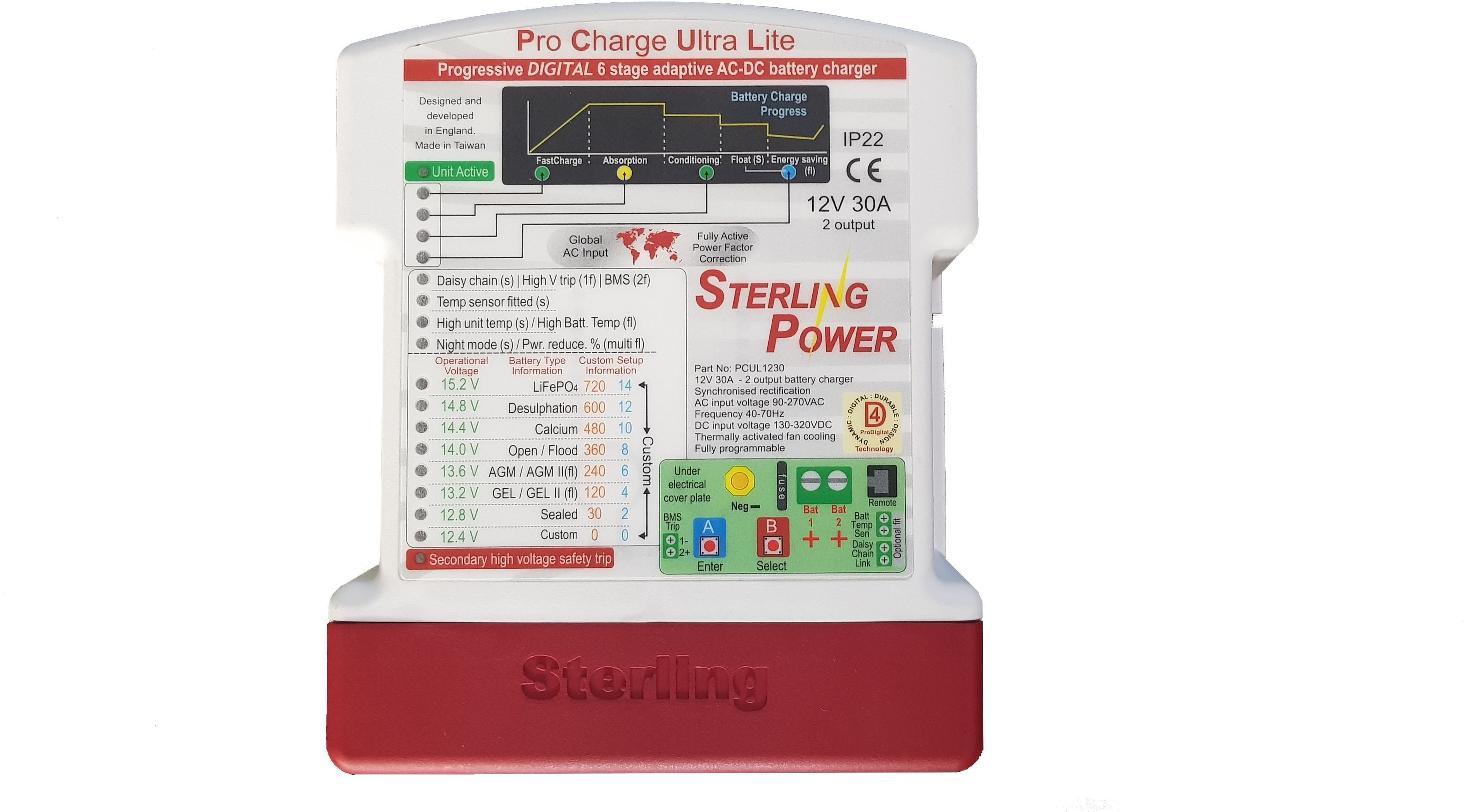Sterling ProCharge Ultra Lite | Ladegeräte | Ladetechnik