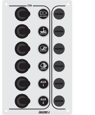 Lalizas Panel vypínačov SP6